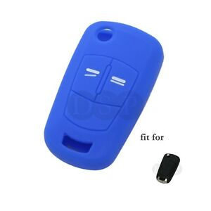 Silicone Cover fit for Opel Vauxhall Astra Corsa Flip Remote Key 2 BTN CV9620DB