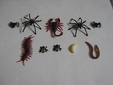 FAKE FLY 3 tipi di Spider Scarafaggio Vermi Worm Scorpione Insetto Centipede scherzo
