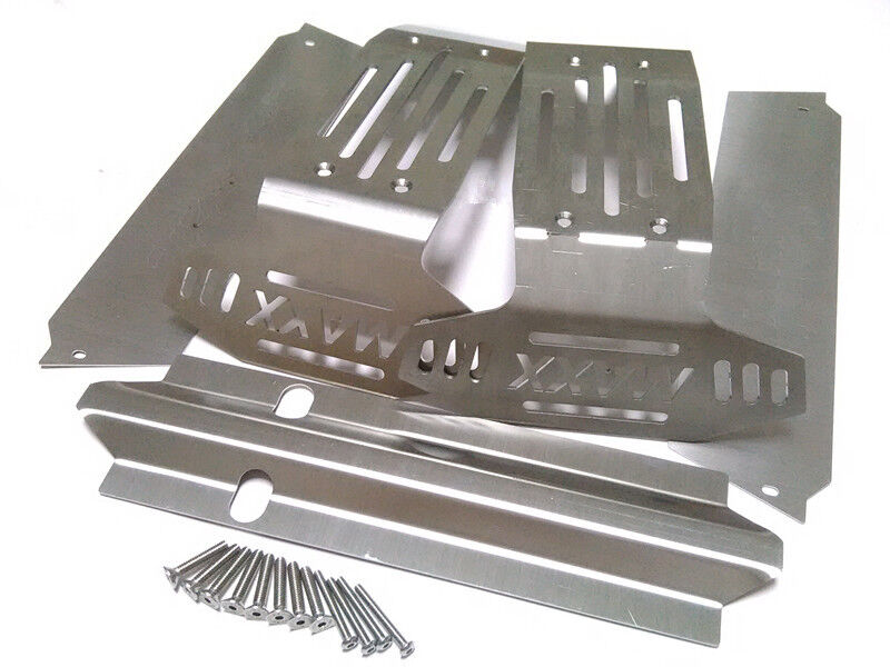 1/5 Traxxas X-MAXX Lightweight Stainless Steel Guard Chassis Protection 6s 8s