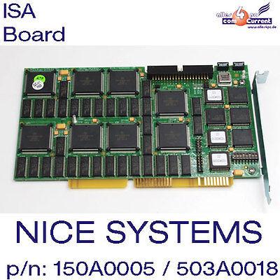 Nice Systems Ltd. Isa Scheda Apas Board P/n: 150a0005-06, Assy: 503a0018-2c Top!-