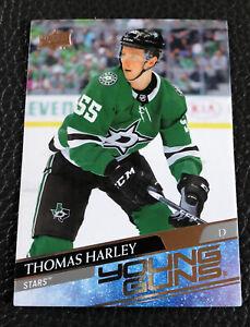 2020-21 Upper Deck Thomas Harley Young Guns YG Rookie Card RC C41 Dallas Stars