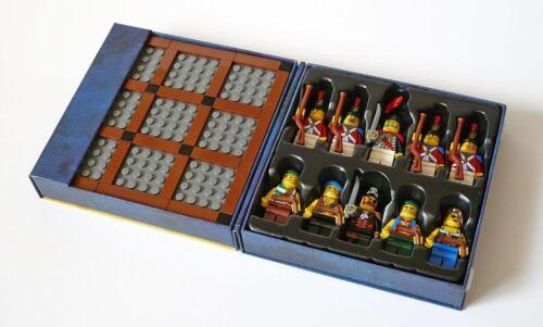 Lego Pirates 852750 TIC TAC TOE 90 Pcs Board Game 10 minifigures NISB