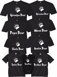 cd3dead1 Mama Bear Papa Bear Family Bear Christmas Gift Cute matching T ...