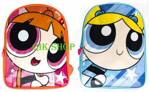Powerpuff Girls Backpack Blossom Backpack Bubbles Backpack 25cms x 32cms
