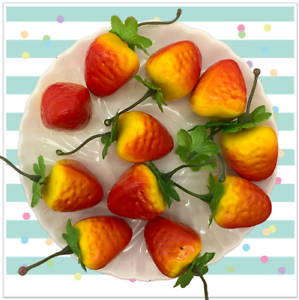 Foam Strawberries for Slime