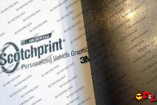 "3M 1080 Scotchprint Brushed Steel Wrap Film 18""x24"" 3 sq. ft. BR201"