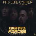 Higher Forces [PA] by Phi-Life Cypher (CD, Nov-2003, Zebra Traffic)