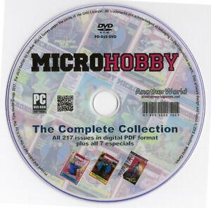 MICRO-HOBBY-Spanish-Magazine-Collection-on-Disk-Bonus-Sam-Coupe-Spectrum-Games