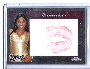 WWE-Cameron-2015-Topps-Chrome-Authentic-Divas-Kiss-Card-DWC