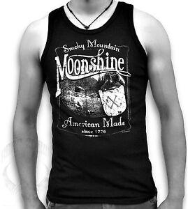 Smokey-Mountain-Moonshine-XXX-Biker-Mens-Sleeveless-Muscle-T-Tank-Top-Sm-2XL