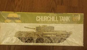 Aurora British Churchill Tank WWII.