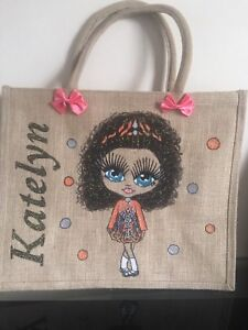 Unique Personalised Bag Jute Ping