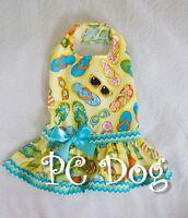 Xxxs Flip Flop Time Dog Dress Clothes Pet Apparel Clothing Teacup Pc Dog®
