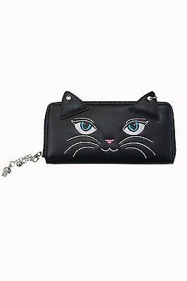 Banned Carmen Kitty Wallet Geldbörse Geldbeutel  Katze Kitty Gothic #3152 229