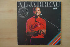"""Al Jarreau Autogramm signed LP-Cover Vinyl """"Look To The Rainbow -Live In Europe"""""""