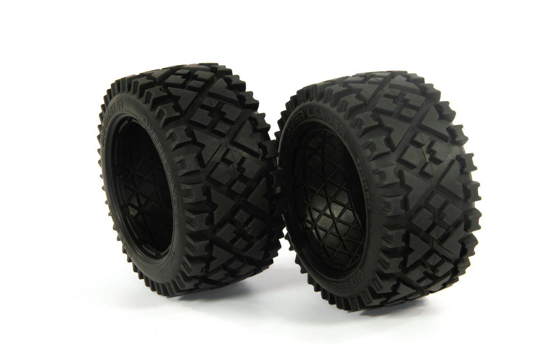 MadMax OVER LANDER ein Paar Hintterreifen 80mm - - - y1413 02 - Reifen, tires, wheel f09a5a