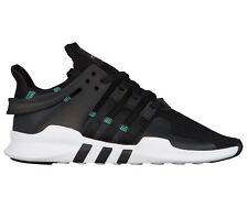 quality design f7ceb a9b21 Adidas EQT Support ADV Mens CQ3006 Black White Knit Running Shoes Size 8.5