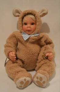 Lee-Middleton-034-Bear-034-Artist-Studio-Collection-Furry-amp-Fun-Doll-Reva-Schick