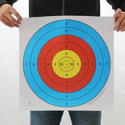 Sonstige Weitere Sportarten Mutig 30stück 40x40cm Bogenschießen Zielscheibenauflage Nach Fita Schießübungen Papier Lassen Sie Unsere Waren In Die Welt Gehen