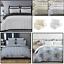 100-Algodon-Cuidado-facil-cubierta-del-edredon-edredon-multicolor-nuevo-conjunto-de-ropa-de-cama miniatura 1
