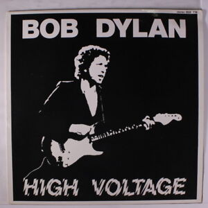 BOB-DYLAN-High-Voltage-LP-Germany-limited-edition-yellow-vinyl-disc-nearly-n
