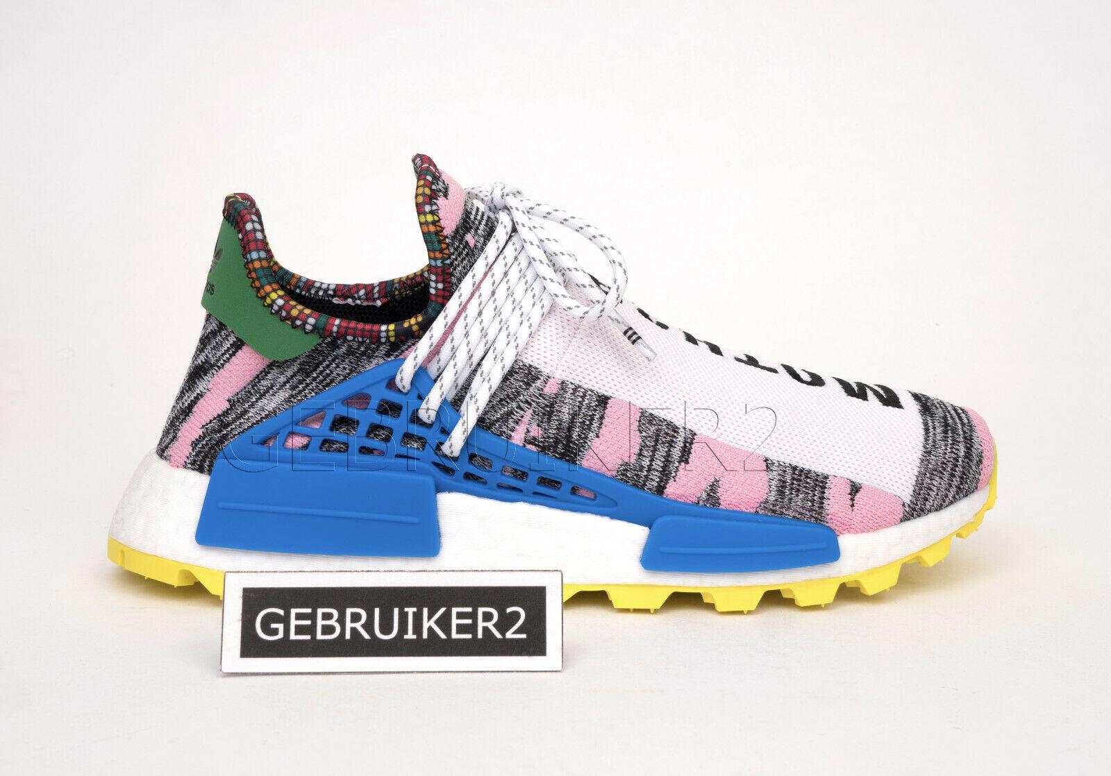 Adidas Originals x Pharrell PW Afro Solar Pack Hu NMD Pink BB9531 Motherland us9