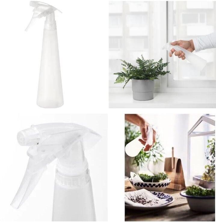 IKEA Plastic Empty Water Spray Bottle Plants Watering Cleaning Garden Tool 35 cl