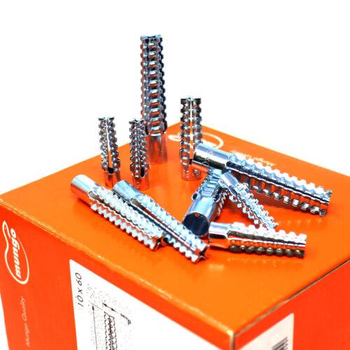 Lana MUNGO metallo Espansione Plug in acciaio fissaggio Fire via di fuga luce tubo protettivo Fissaggi