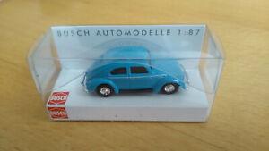 VW Käfer mit Brezelfenster 1/87 H0 Busch 42700-112   NEU mit OVP