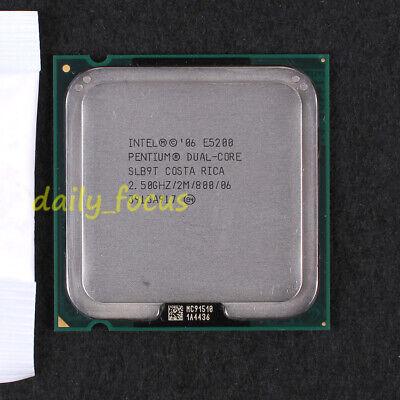 LGA775 Intel Pentium Dual-Core E5200 2.5GHz//2M//800 Socket 775 SLB9T