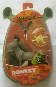 Shrek-2-Donkey-Action-Figure-Kicking-Action-NEW-SEALED