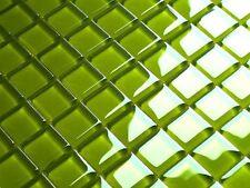 LUXUS Glasmosaik Fliesen lemon grün  HOCHGLANZ limon green