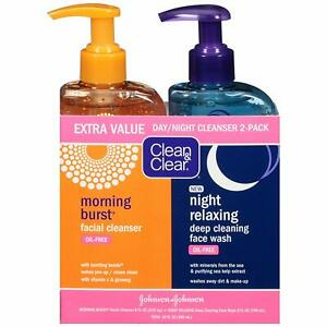 Clean-amp-Clear-2-Pack-Day-and-Night-Face-Cleanser-Citrus-Morning-Burst-Facial