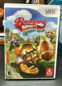 Backyard Sports Football: Rookie Rush - Nintendo Wii by ...