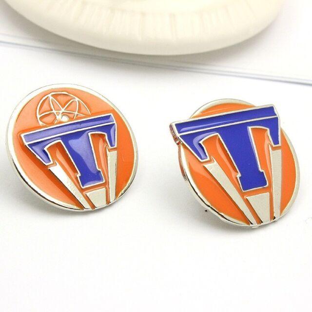 2pcs Tomorrowland World's Fair Movie Emblem Badge Exclusive Pin Prop