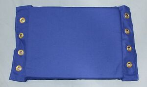 Details about Blue Canvas Turnbuckle Pads, Wrestling Boxing MMA UFC Canvas  WWE TNA WWF