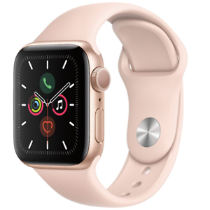 Apple Watch Series 5 GPS 40mm Gold Pink Sand Sport Band MWV72LL/A