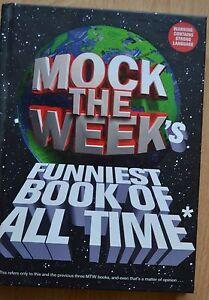 Mock The Week039s  Funniest Book of All Time  Hardback - Chelmsford, United Kingdom - Mock The Week039s  Funniest Book of All Time  Hardback - Chelmsford, United Kingdom