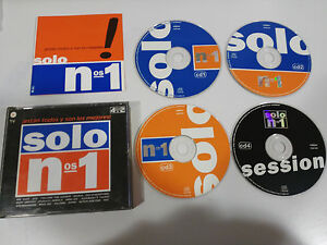 SOLO-NUMEROS-1-4-X-CD-VALE-MUSIC-1999-MAX-MIX-HOUSE-DANCE-TECHNO