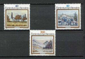 35346) Liechtenstein 1983 MNH Landscapes by A. Ender 3v