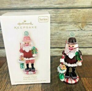 Hallmark-2008-Noel-Nutcrackers-Candy-Santa-Claus-1-in-Series-Keepsake-Ornament