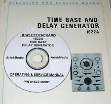 HP 1822A TIME BASE PLUG-IN OPERATING &  SERVICE MANUAL