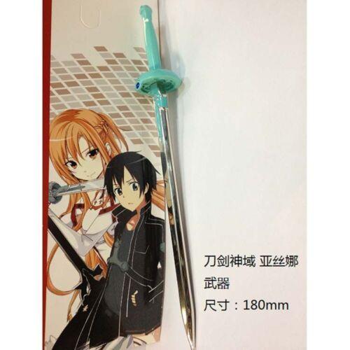 New Anime Sword Art Online Asuna Yuuki Lambent Light Model Cosplay USA Seller