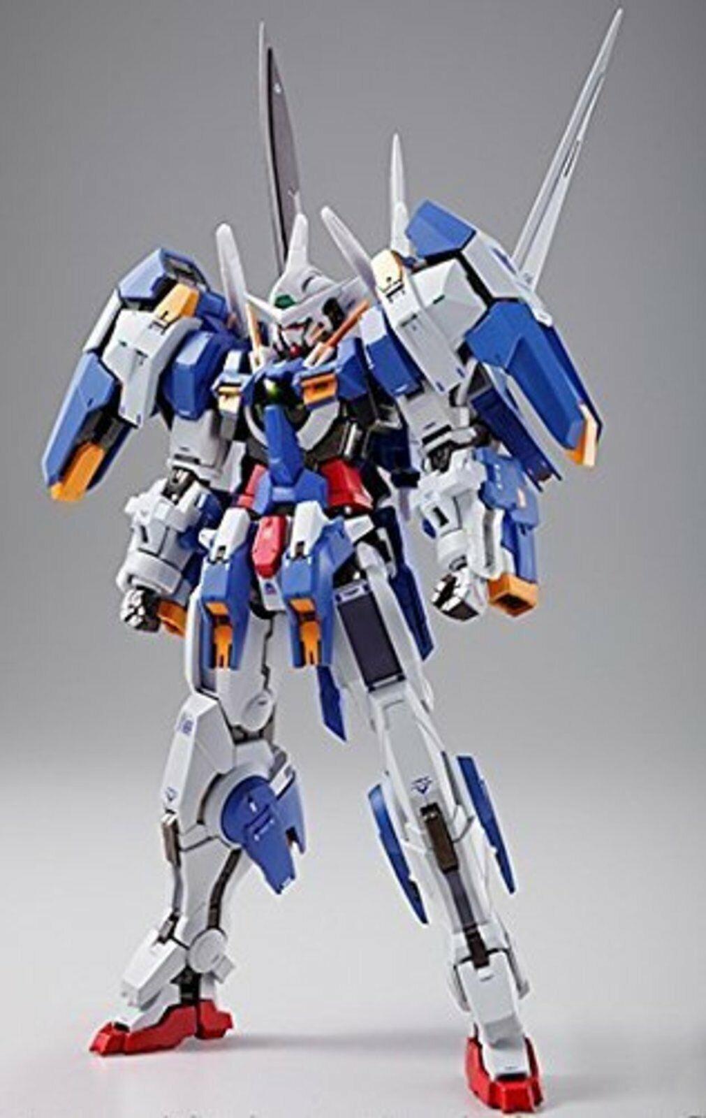Metal Build Gundam 00V Gundam avalancha Exia Figura De Acción Bandai F S con nº de seguimiento