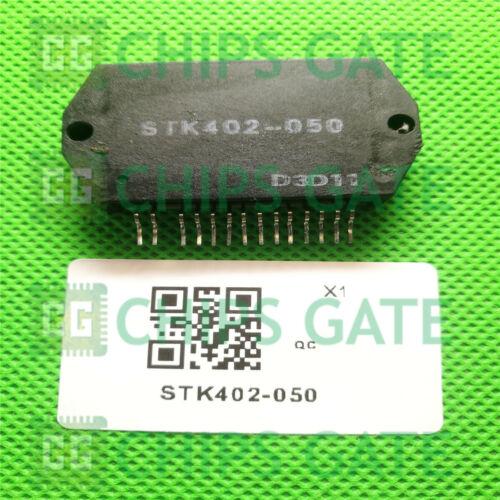 1PCS STK402-050 Encapsulation:SIP-ZIP,Two-Channel Class AB Audio Power