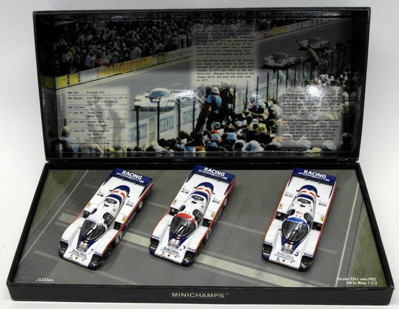 Minichamps 1 43 Scale 402 826503 - Porsche 956 L Wins 1982 24Hr LM 1-2-3
