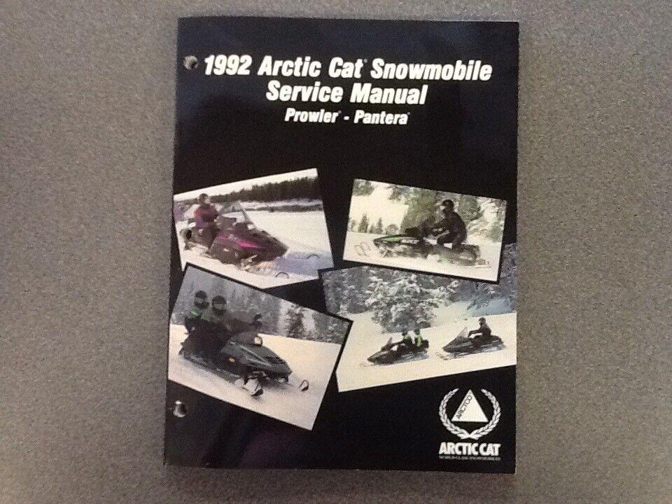 ARCTIC CAT OEM SERVICE MANUAL 1992 PROWLER PANTERA 2254-732