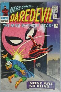Daredevil-17-Spider-Man-Crossover-Stan-Lee-John-Romita-1966-Silver-Age-Marvel