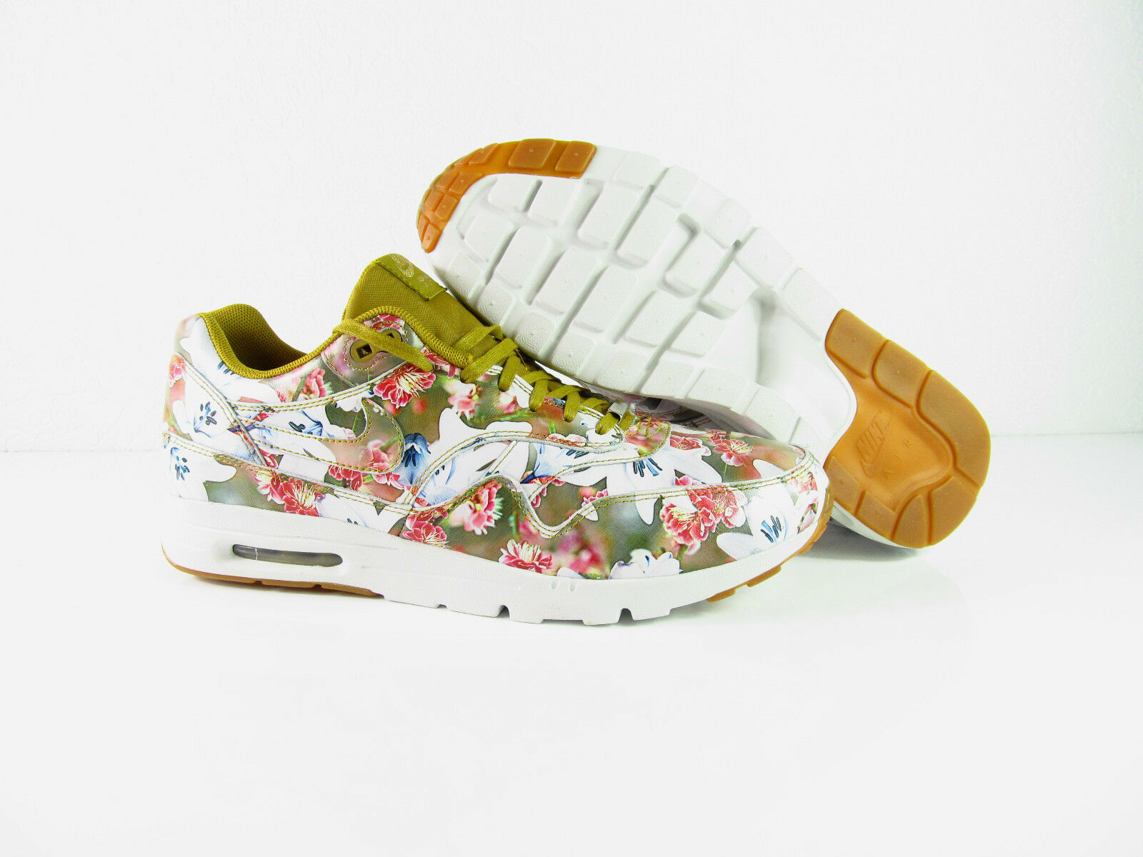 Nike Air Max 1 Ultra Pack Lotc QS MILAN City Pack Ultra Floral NSW OG New 747105-700 4680ca