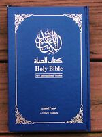 Arabic/english Bible Contemporary/niv The Book Of Life, Blue